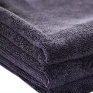 Microfiber cloth for bike cleaning