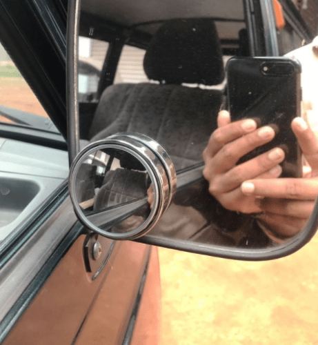 Blind Spot Mirror For Cars & Motorcycles (2 Pieces) photo review