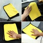 Double Side Microfiber Cloth 600 GSM For Car Cleaning